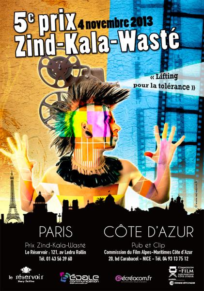 Le prix Zind-Kala-Wasté 2013