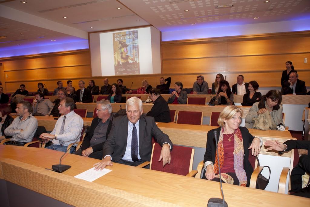 Remise du prix Zind-Kala-Wasté « Pub and Clip 2013 » à la CCI de Nice