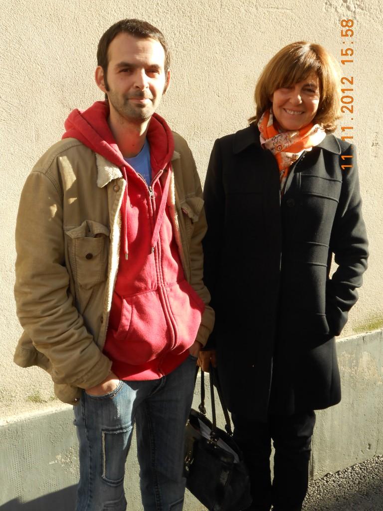 """""""Mister Trace"""" et Véronique Chardon"""
