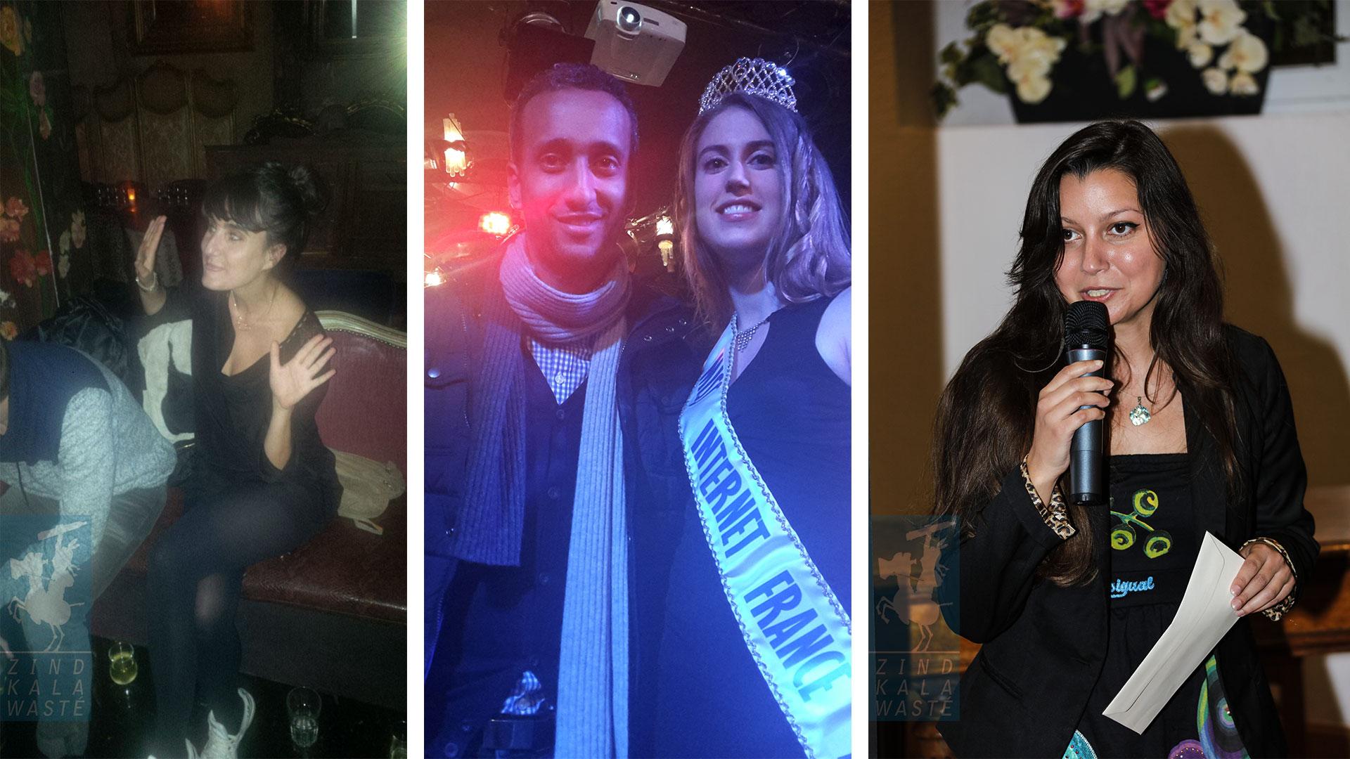 Réalisatrice Aurore Coppa: lauréate du 7ème prix Zind-Kala-Wasté 2015 - YAZ et Miss Internet France 2015 - Réalisatrice Sandrine Minatchi: lauréate du prix Zind-Kala-Wasté Pub and Clip 2015