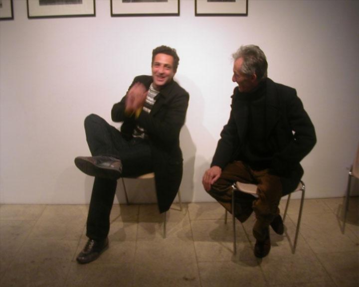 Joël Maître (Fondateur du prix Zind-Kala-Wasté) et Roger Tarin (Photographe)