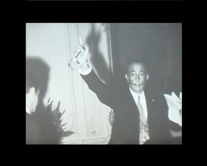 Rencontres photographiques de Roger Tarin dans le cadre du prix Zind-Kala-Wasté 2010 - Photo avec Salvador Dali