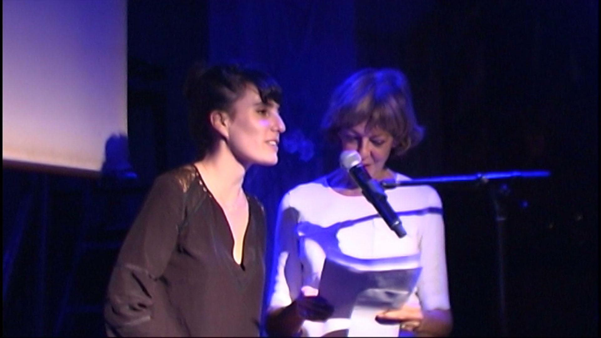 La réalisatrice Aurore Coppa lauréate du 7ème prix Zind-Kala-Wasté 2015