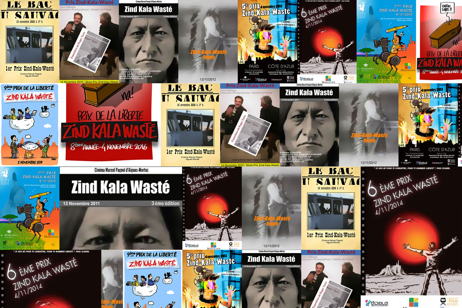 Évènement artistique sur la liberté d'expression Estaque